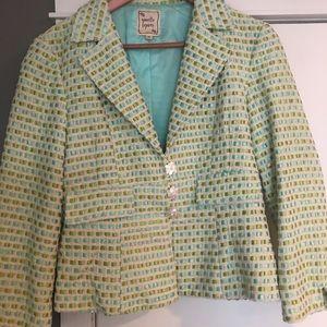 Nanette Lepore adorable fun colored jacket